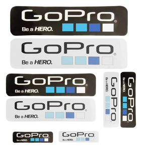 8 PCS Verschillende formaat GoPro Icon Stickers
