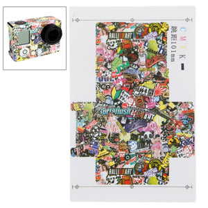 Cartoon Graffiti Patroon Plan B Case Sticker voor GoPro HERO3 + / 3