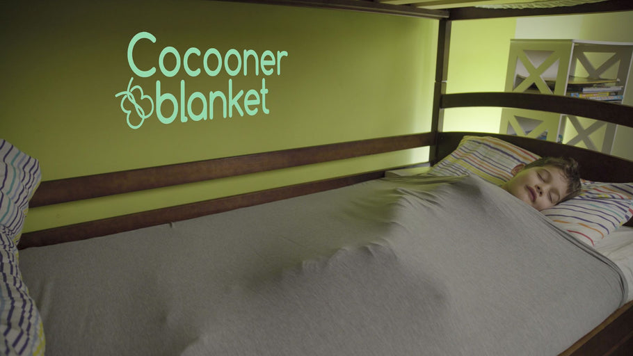 Anxiety and Stress Keeping You Up At Night? Forget the Weighted Blanket - You Need the Cocooner Blanket!