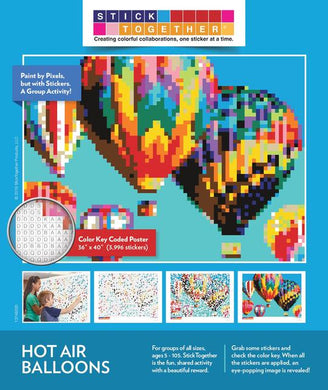 Stick Together Hot Air Balloon Single Kit