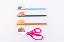 Load image into Gallery viewer, Noggins 4 Pack Reusable Stickers, Scissors, and Curriculum Combo - Stick on, Play, Grow!