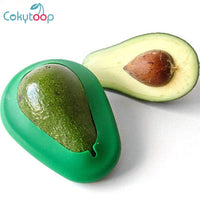 Cokytoop 2pcs Avocado Saver Wrap Food Huggers Foldable Silicone Friut Preservation Seal Cover Fresh Keeping Lids Kitchen Tool