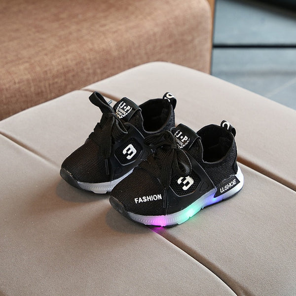 Luminous Sneakers with Backlight Sport Shoes Glowing Sneakers for Girls Boys Light Up Shoes for Kids sapato infantil menina
