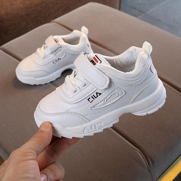 New brand Leisure mesh boys girls shoes fashion kids sneakers cartoon light sports comfortable infant tennis cool children shoes