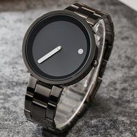 Unisex Minimalist Creative Watches For Men Women 2017 Fashion Simple Watches Sports Outdoor Quartz Wristwatches Couple Watches