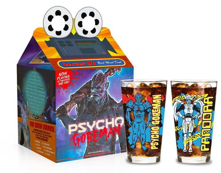 PG: Psycho Goreman Collector Glass Set