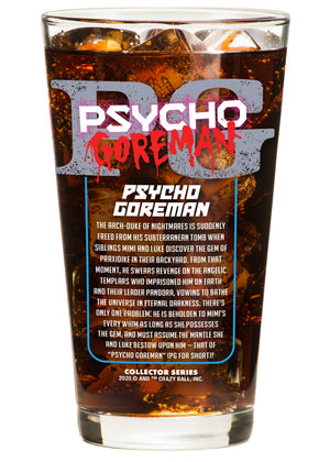 PG: Psycho Goreman Collector Glass - PG
