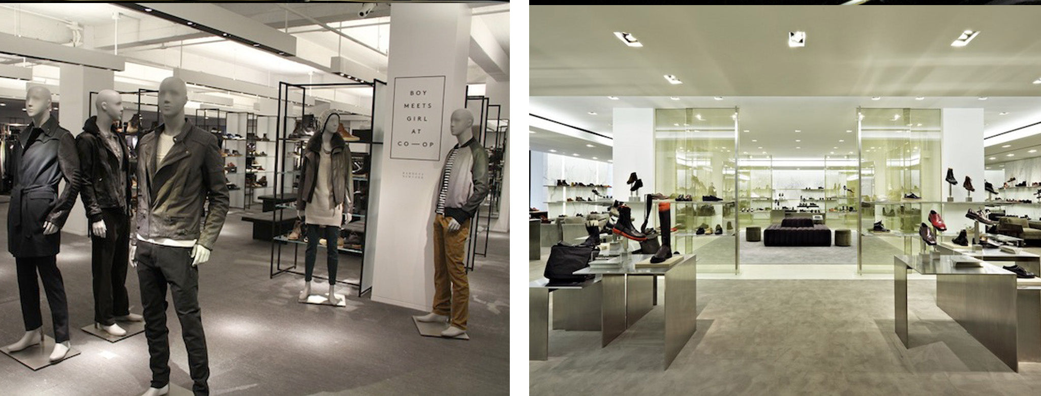 Barneys Menswear Floor