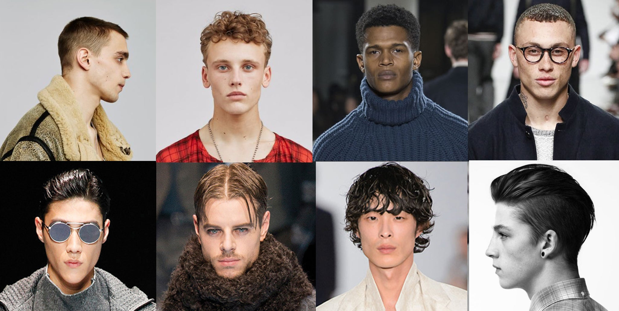 men's hair trends A/W 17 A/W 18