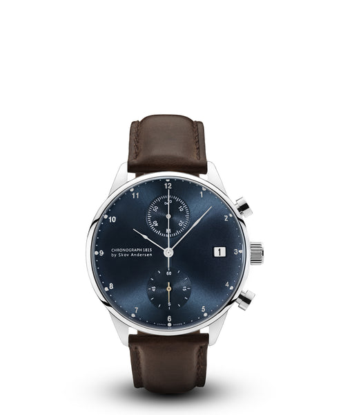 About Vintage | 1815 Chronograph | Steel/Blue Sunray - Special Edition