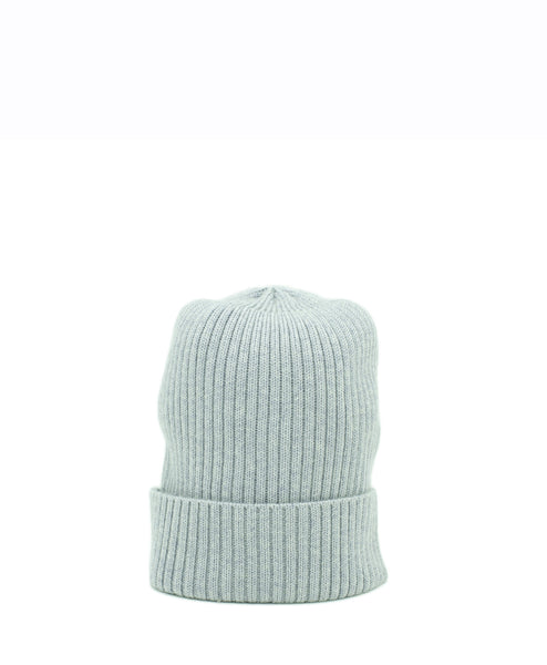 C&T 100% Wool Beanie - Pewter