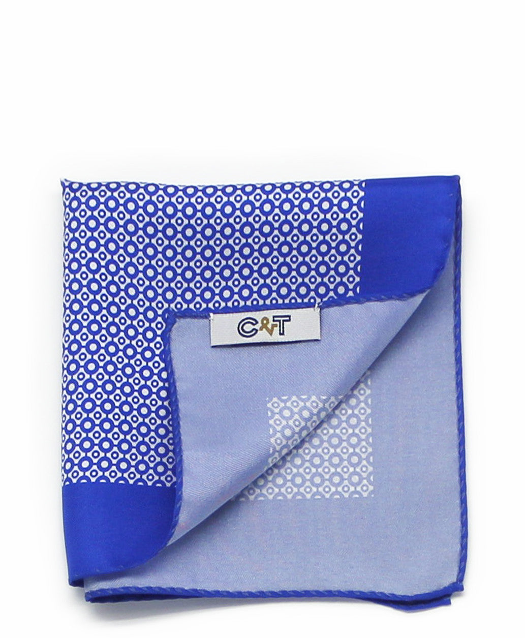 C&T Silk Pockerchief | Blue Cincture