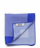 C&T Silk Pockerchief - Blue Cincture