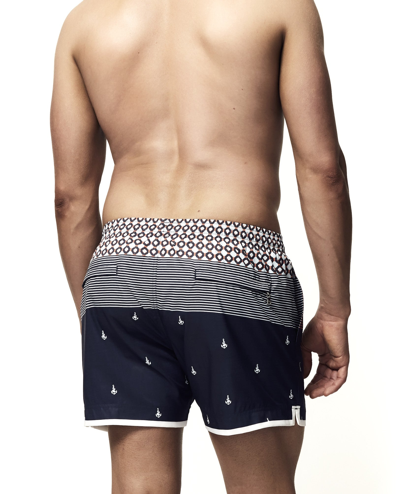 Mantaray Swim-Short | Anchors