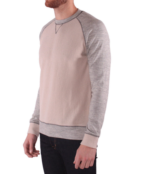 T213 Wool Jersey Pullover - Stone/Silver
