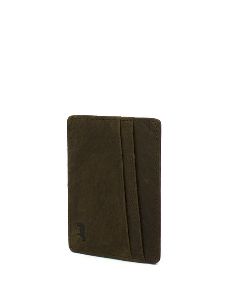 Will Leather - Quip Card Case - Cognac/Rust