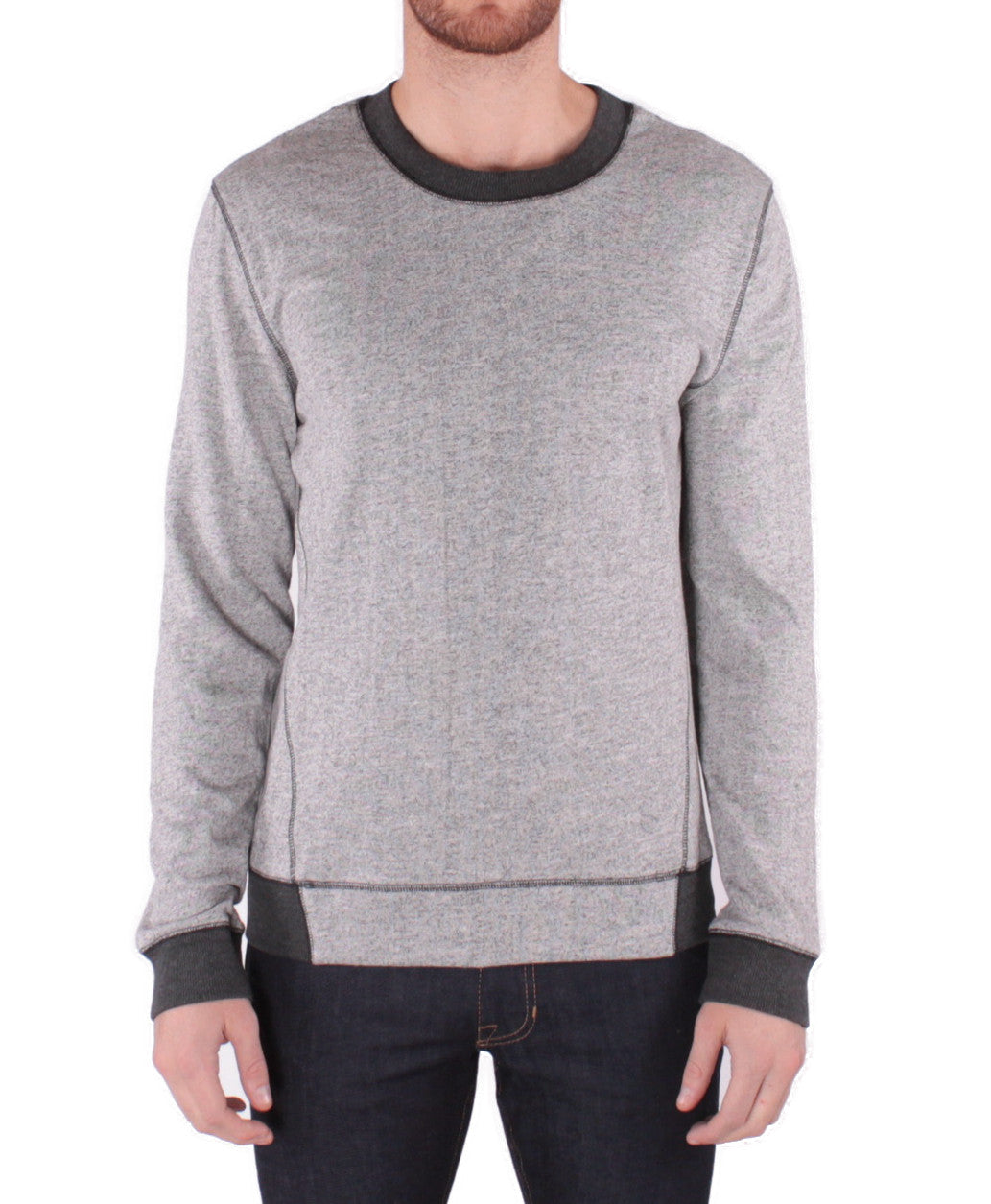 grey marle sweat top
