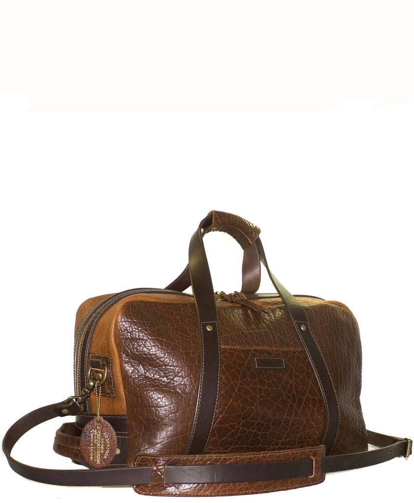 Coronado Leather - Bison Weekender - Saddle/Tan