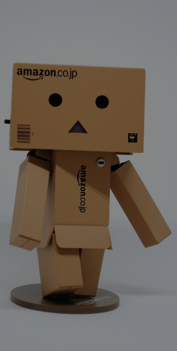 Amazon Box Man