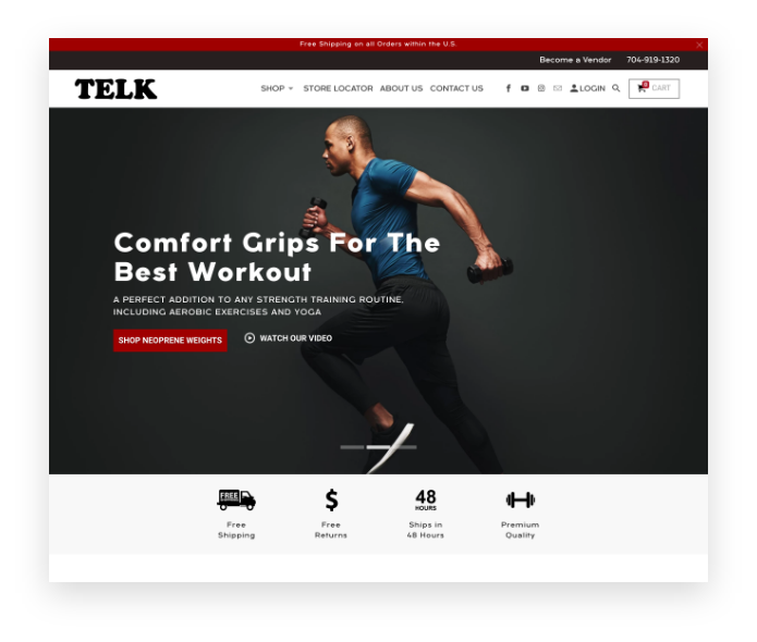 Telk Fitness Client Image