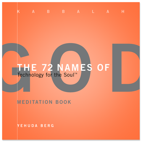 72 Names of God Meditation Book (English)