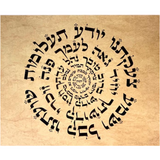 HEBREW LETTER ART: ANA BEKO'ACH PRAYER 8X10 BY YOSEF ANTEBI