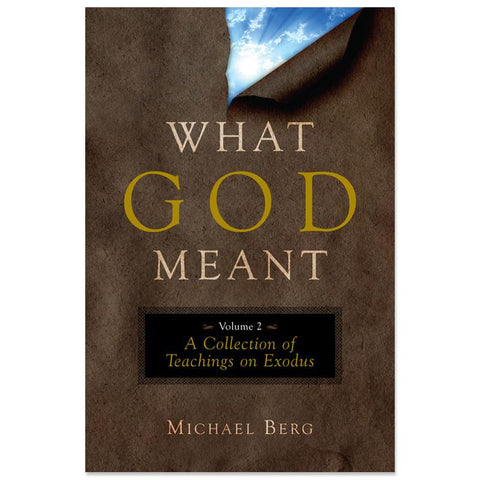 What God Meant, Vol. 2: Exodus (English)