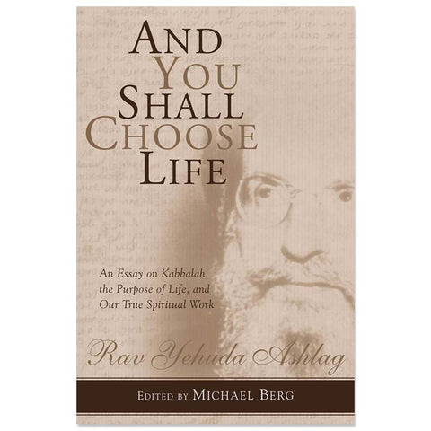 And You Shall Choose Life (English)
