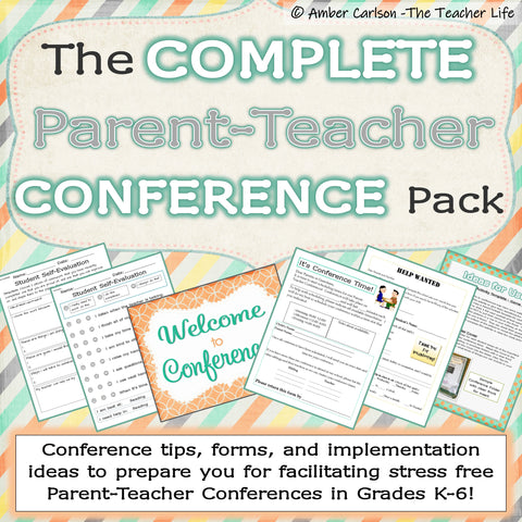 The Complete Parent Teacher Conference Pack