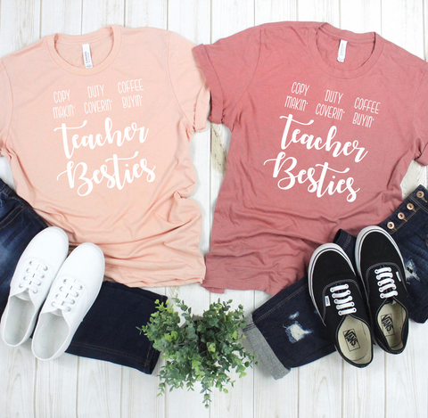 Teacher Besties Tee