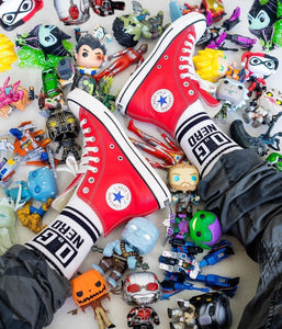 Issue #1 O.G Nerd crew socks