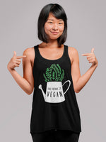 The future is vegan tank top