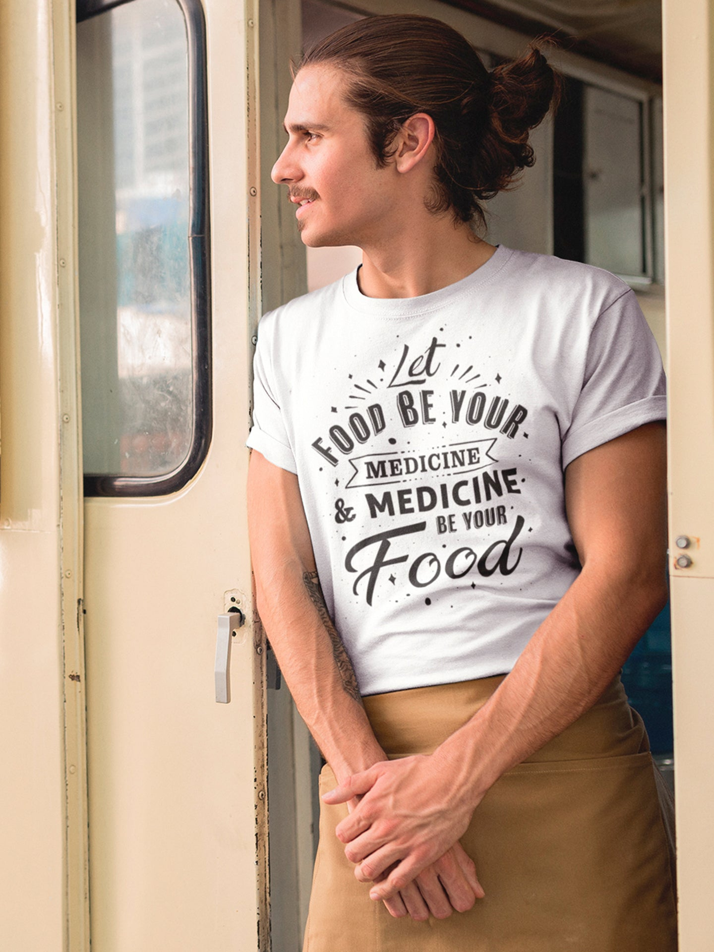 Let food be your medicine and medicine be your food t-shirt