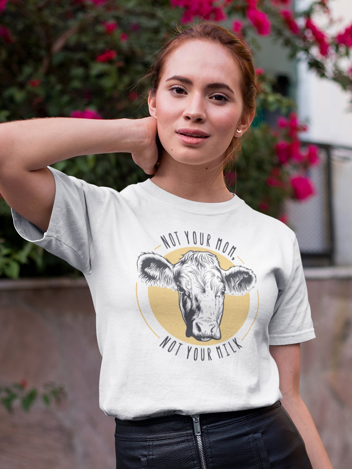 Not your mom, not your milk - Vegan t-shirt