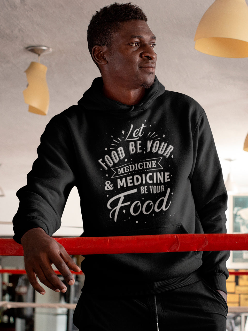 Let food be your medicine and medicine be your food hoodie