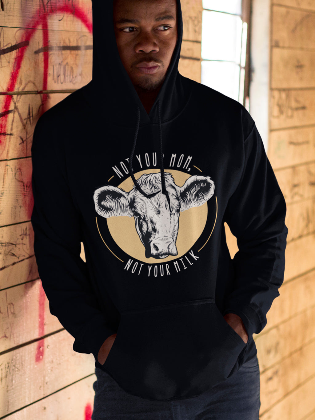 Not your mom, not your milk - Hoodie