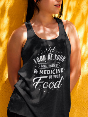 Let food be your medicine - Vegan tank top