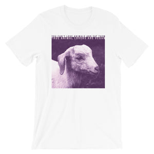 True animal lovers are vegan t-shirt