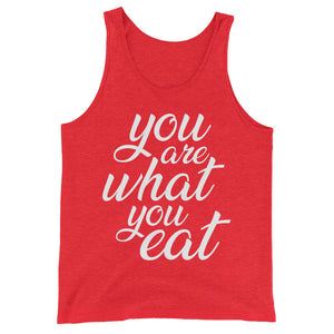 You are what you eat - Vegan tank top - Red