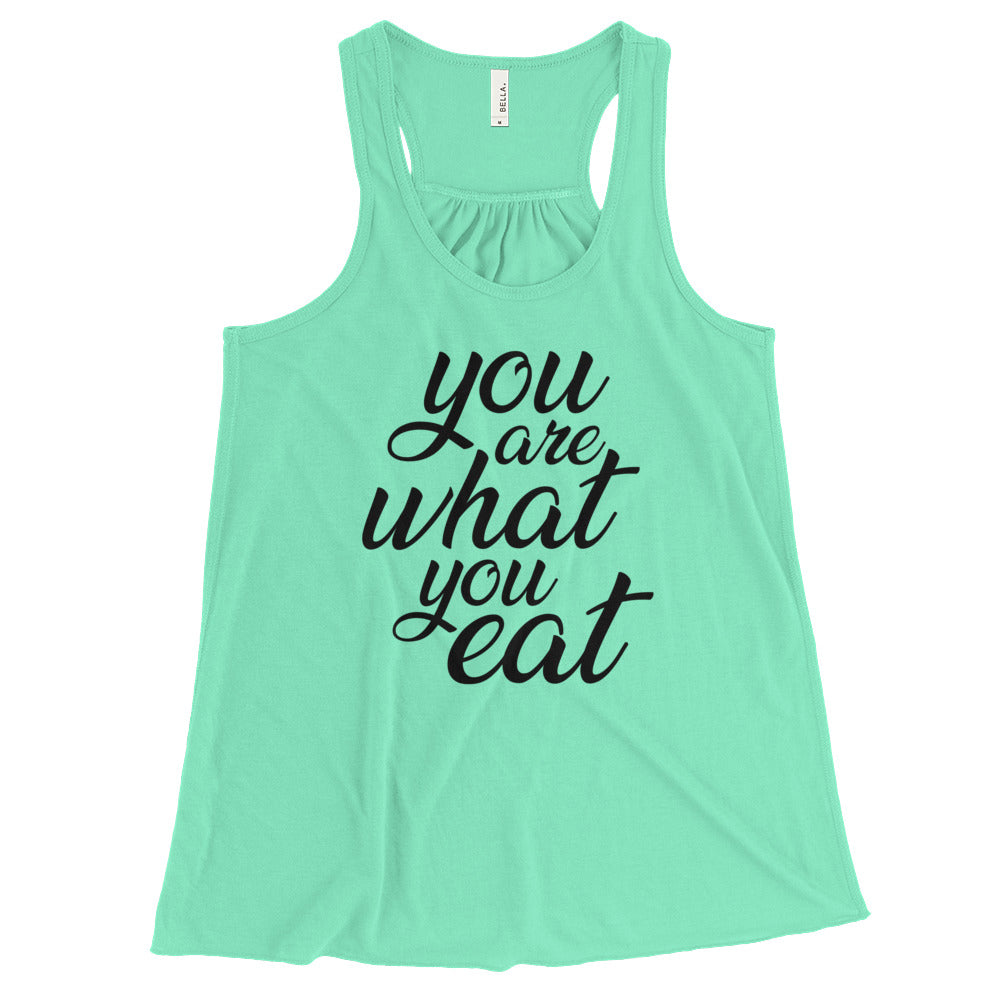 You are what you eat - Vegan tank top - Mint