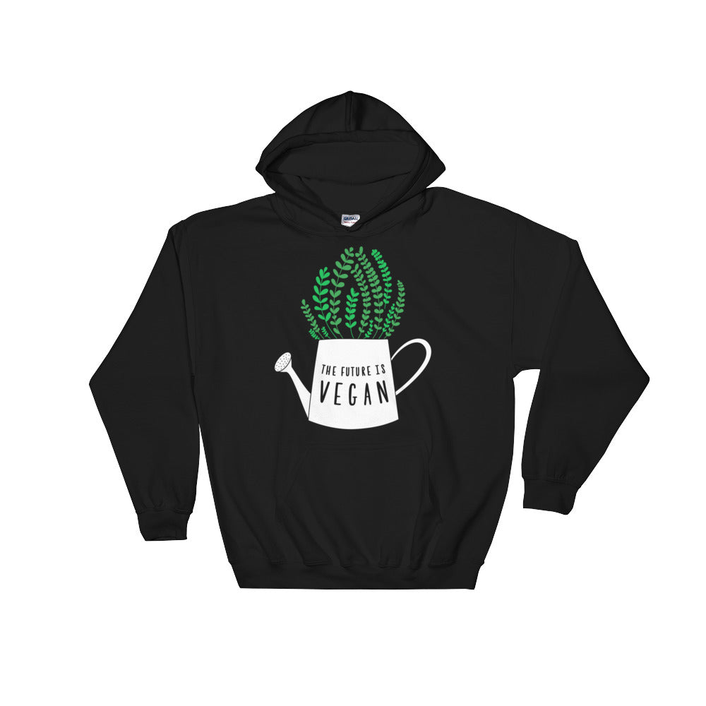 The future is vegan hoodie
