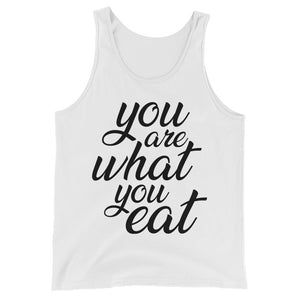 You are what you eat - Vegan tank - white