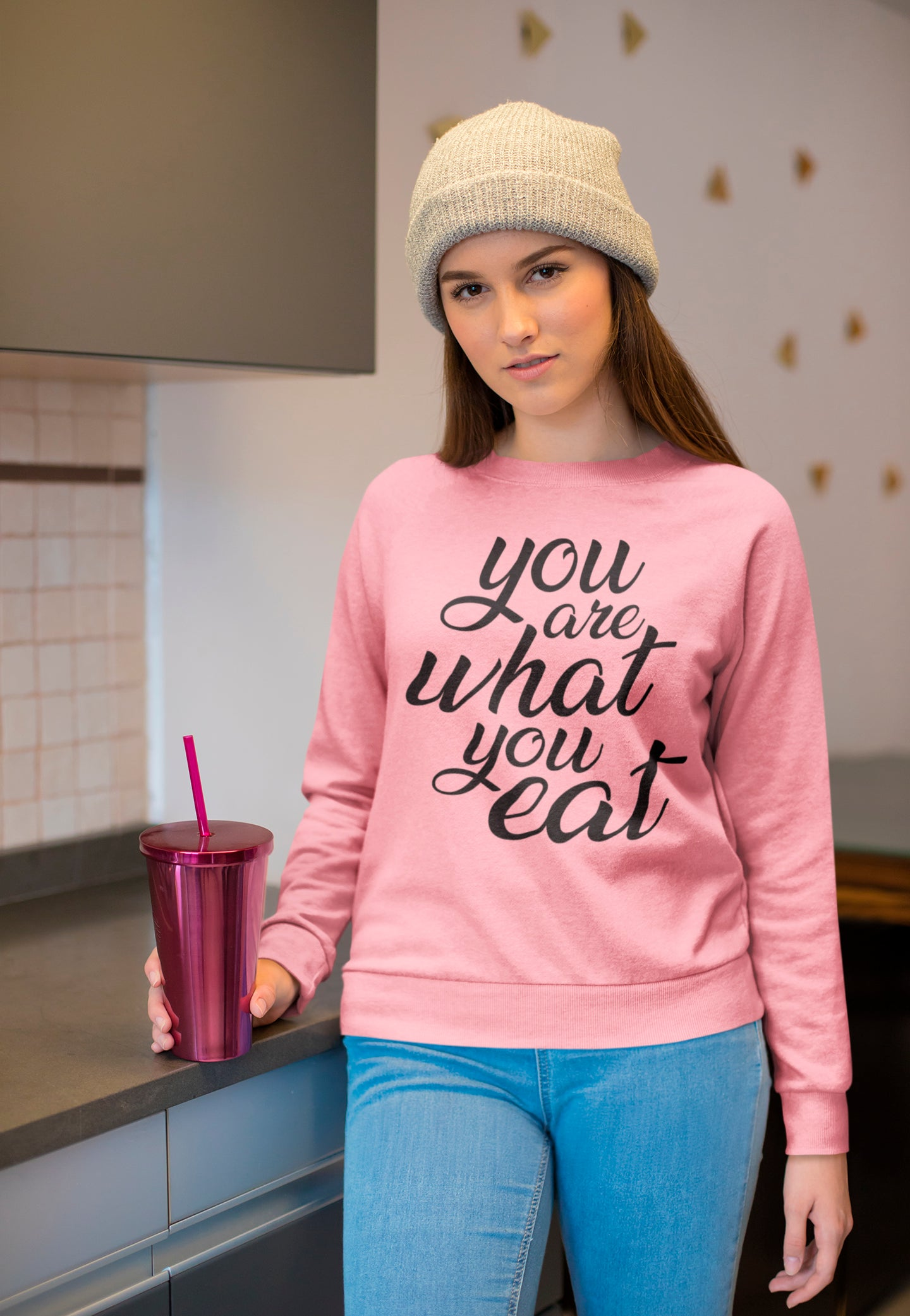 You are what you eat - Sweatshirt