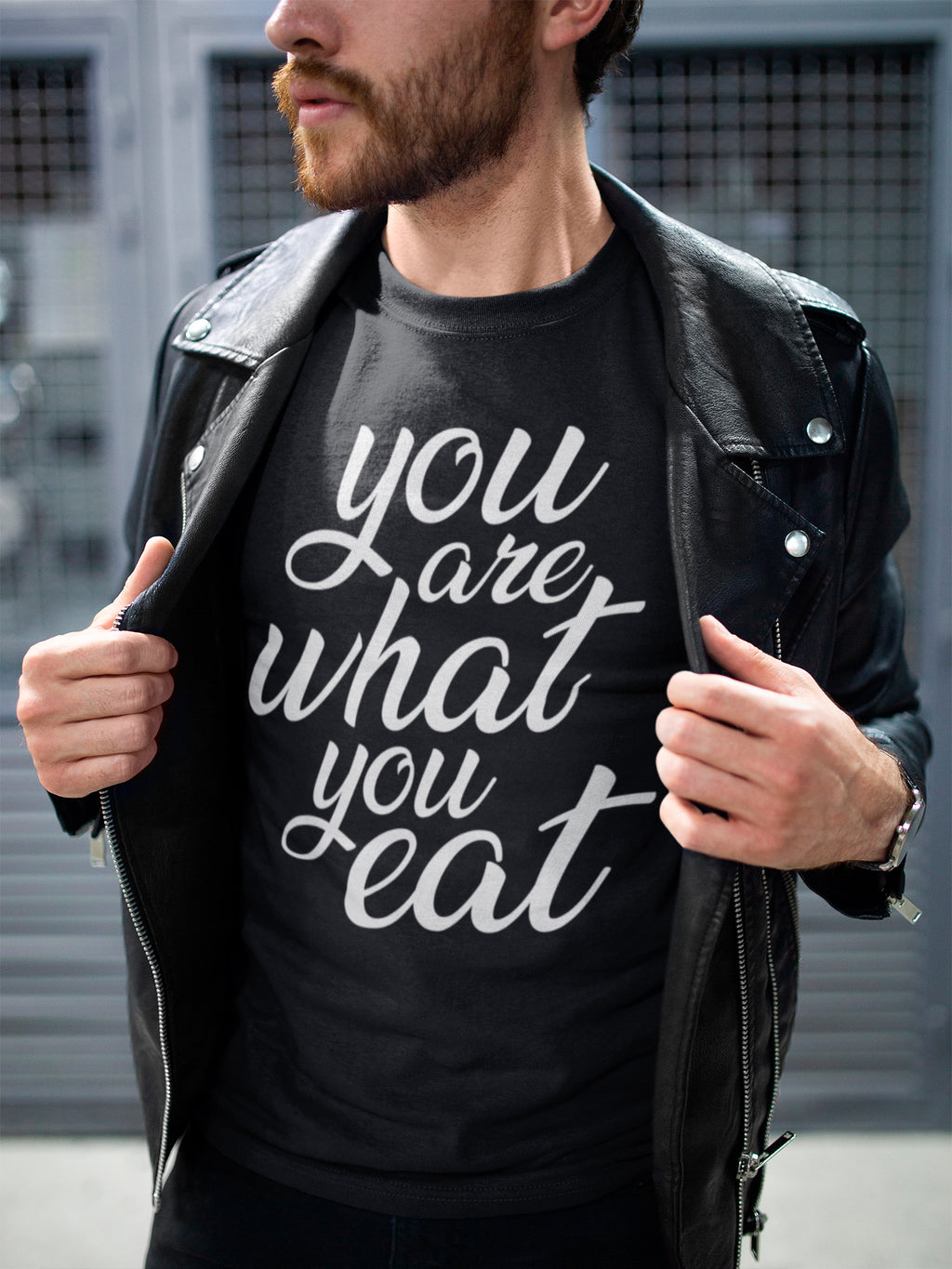 You are what you eat - Vegan t-shirt
