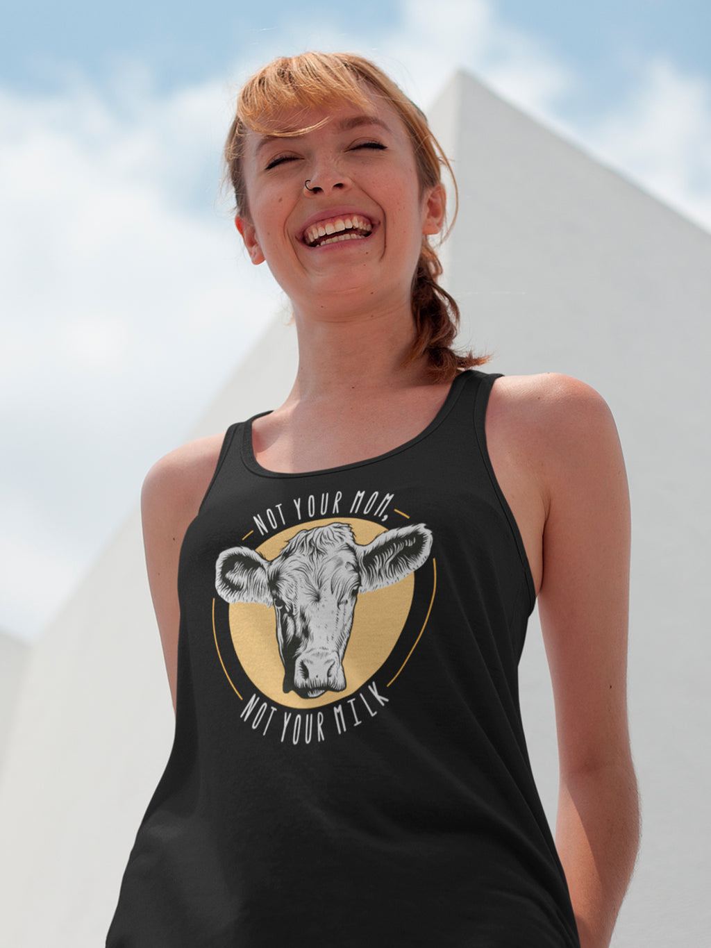 Not your mom, not your milk - Tank top