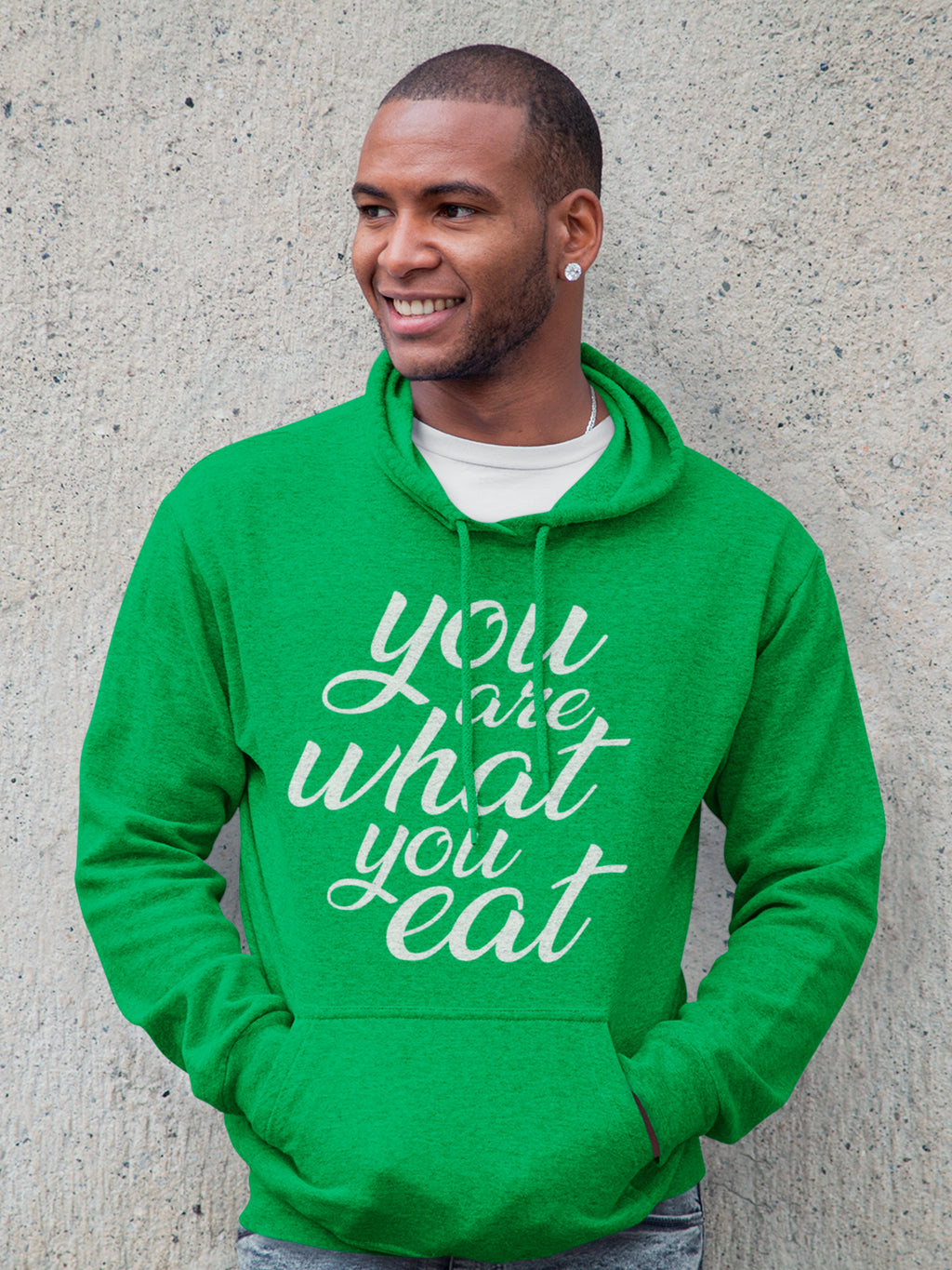 You are what you eat - Vegan hoodie