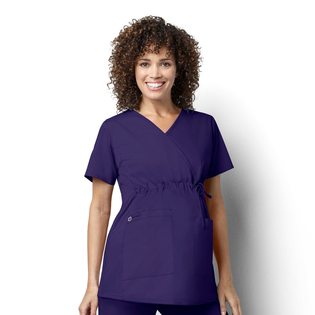 Wonderwork Maternity Mock Wrap Top