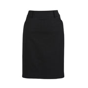 Biz Ladies Multi Pleat Skirt