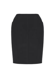 Biz Corporate Bandless Pencil Skirt - Womens
