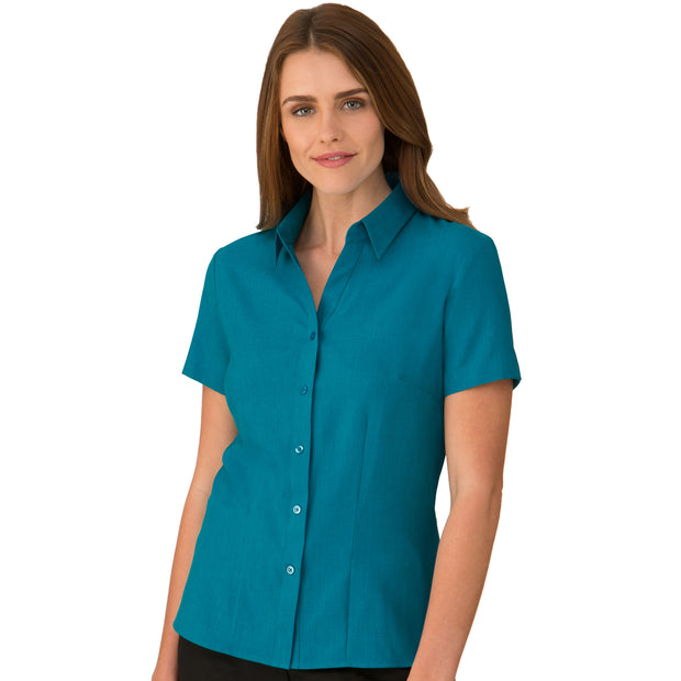 City Collection Ezylin Shirt Short Sleeve - Womens